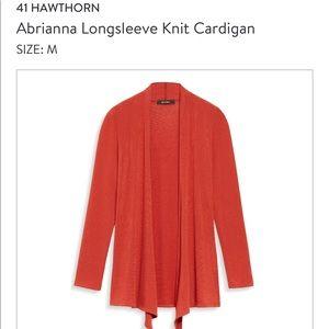 "Long sleeve, ""Abrianne"" cardi from Stitch Fix."